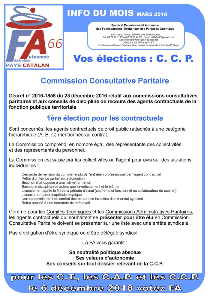 Fa Fpt66 Syndicat Fonction Territoriale